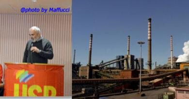 """Franco Rizzo USB: """"Primo caso confermato di Covid – 19 in Arcelor Mittal"""