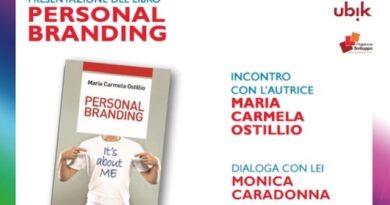 Il Personal Branding raccontato dalla scrittrice Maria Carmela Ostillio